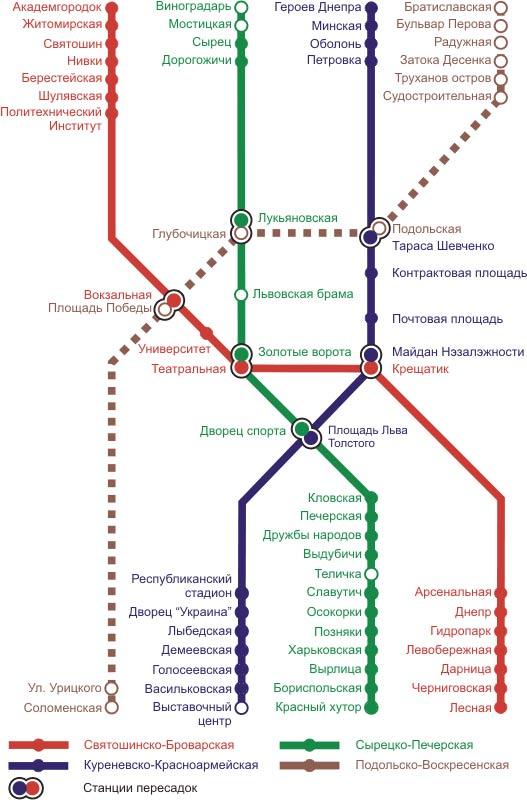 Функционирует 42 станции метро