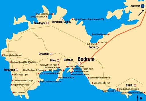 Бодрум, Турция, недвижимость Турции