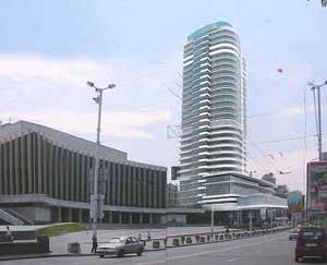 Гостинично-офисный комплекс на ул. Большой Васильковской