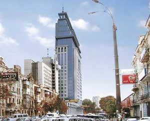 Офисно-гостинично-торговый комплекс на ул. Горького