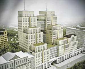 Торгово-офисный комплекс на ул. Жилянской
