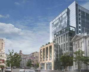 Офисный центр на ул. Саксаганского