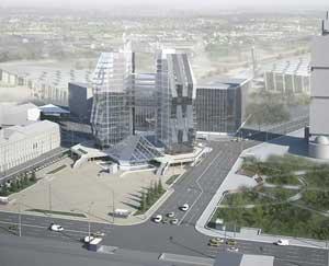 Офисно-торговый комплекс на Соломенской площад
