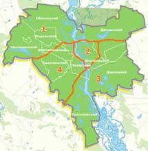 Карта Киева