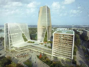 Новый квартал в Берлине