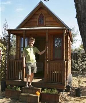 Маленькие дома в США