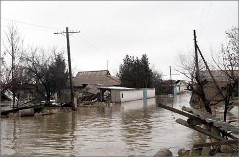 Донецая область может уйти под воду