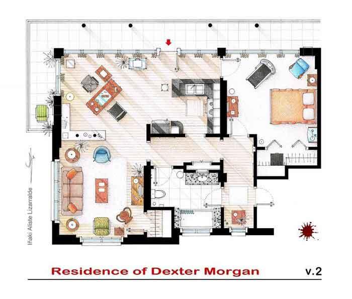 Квартира Декстера Моргана