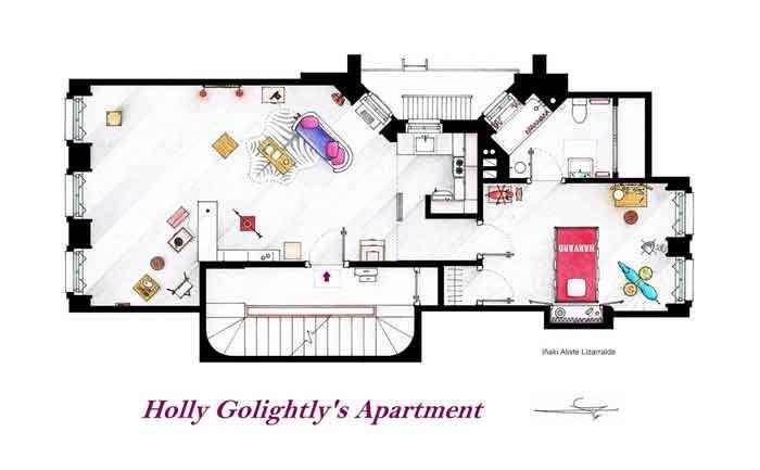 Квартира Холли Голайтли