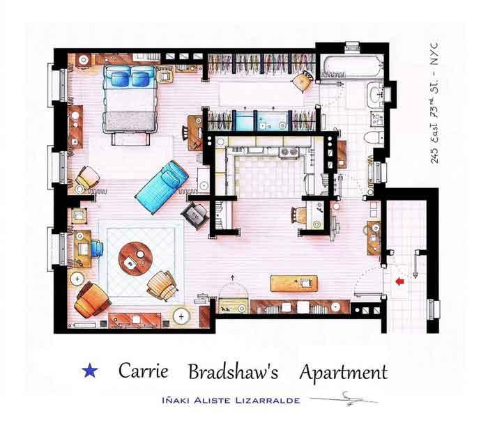 Квартира Кэрри