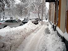 В Украине снега не будет