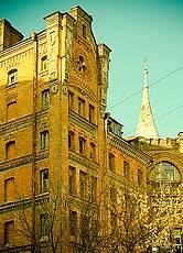 Архитектура Киева: Замок барона Штейнгеля (Дом рыцаря)