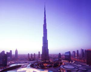 Здание Бурж Халифа Дубаи