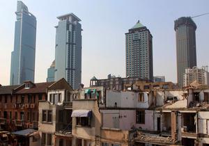 башни в Шанхае