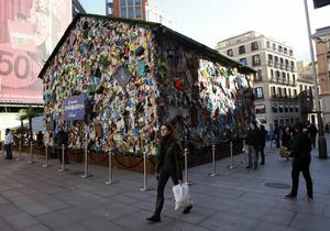 Дом из мусора в Мадриде