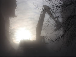 Разрушение Лесного рінка