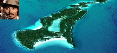 Остров Джони Депа