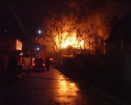 пожар в киевском общежитии
