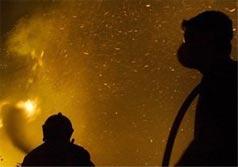 Взрыв магния в Киеве