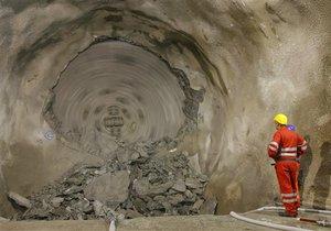 Тоннель в Карпатах