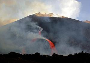 вулкан Єтна в Италии