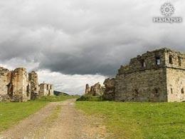 Замок в Прикарпатье