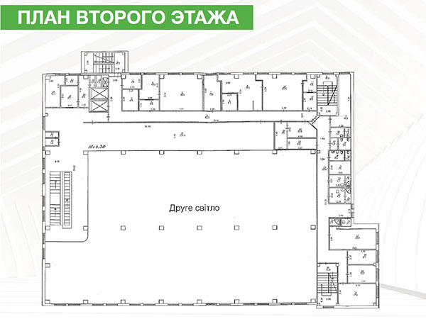 2 этаж - 868 м2 в PALO ALTO business center