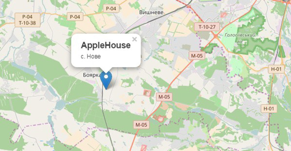КГ Apple House на карте